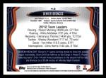2013 Topps #42   Denver Broncos Team Back Thumbnail