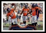2013 Topps #42   Denver Broncos Team Front Thumbnail