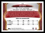2013 Topps #45  Andre Roberts  Back Thumbnail