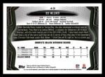 2013 Topps #49  Dee Milliner   Back Thumbnail