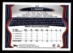 2013 Topps #63  D.J. Swearinger   Back Thumbnail