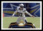 2013 Topps #66  Eric Weddle  Front Thumbnail