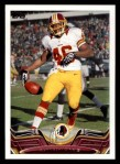 2013 Topps #70  Alfred Morris  Front Thumbnail