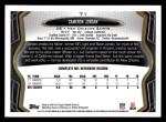 2013 Topps #71  Cameron Jordan  Back Thumbnail