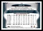 2013 Topps #76  Michael Vick  Back Thumbnail