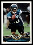 2013 Topps #77  Ace Sanders   Front Thumbnail