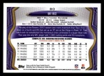 2013 Topps #80  Ray Rice  Back Thumbnail