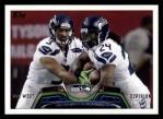 2013 Topps #84   Seattle Seahawks Team Front Thumbnail