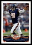 2013 Topps #90  Julius Peppers  Front Thumbnail