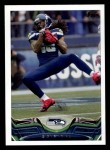 2013 Topps #93  Sidney Rice  Front Thumbnail
