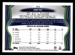 2013 Topps #93  Sidney Rice  Back Thumbnail