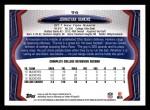 2013 Topps #96  Johnathan Hankins   Back Thumbnail