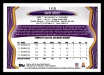 2013 Topps #102  Xavier Rhodes   Back Thumbnail
