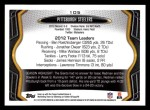 2013 Topps #105   Pittsburgh Steelers Team Back Thumbnail
