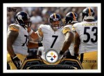2013 Topps #105   Pittsburgh Steelers Team Front Thumbnail