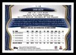 2013 Topps #112  Tavon Austin   Back Thumbnail
