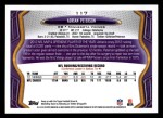 2013 Topps #117   -  Adrian Peterson Most Valuable Player Back Thumbnail