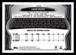 2013 Topps #123  Lamarr Houston  Back Thumbnail