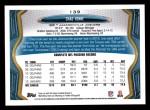 2013 Topps #139  Chad Henne  Back Thumbnail