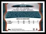 2013 Topps #141  Lamar Miller  Back Thumbnail
