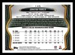 2013 Topps #145  Johnathan Franklin   Back Thumbnail