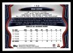 2013 Topps #152  Brian Cushing  Back Thumbnail
