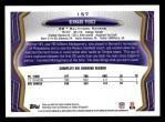 2013 Topps #157  Bernard Pierce  Back Thumbnail