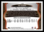 2013 Topps #160  Trent Richardson  Back Thumbnail