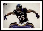 2013 Topps #166  Terrell Suggs  Front Thumbnail