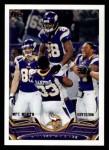 2013 Topps #169   Minnesota Vikings Team Front Thumbnail