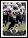 2013 Topps #179  Marques Colston  Front Thumbnail