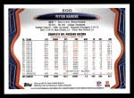2013 Topps #200  Peyton Manning  Back Thumbnail