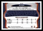 2013 Topps #203  Eric Decker  Back Thumbnail