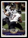2013 Topps #206   Baltimore Ravens Front Thumbnail