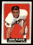 1964 Topps #73  Don Floyd  Front Thumbnail