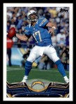 2013 Topps #220  Philip Rivers  Front Thumbnail