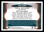 2013 Topps #237   Miami Dolphins Team Back Thumbnail