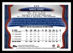 2013 Topps #239  Marquise Goodwin   Back Thumbnail