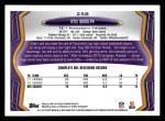 2013 Topps #258  Kyle Rudolph  Back Thumbnail
