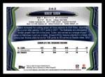 2013 Topps #262  Robert Turbin  Back Thumbnail