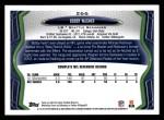 2013 Topps #266  Bobby Wagner  Back Thumbnail