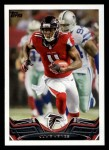 2013 Topps #270  Julio Jones  Front Thumbnail
