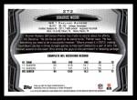 2013 Topps #273  Denarius Moore  Back Thumbnail