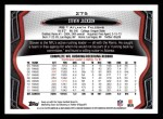 2013 Topps #275  Steven Jackson  Back Thumbnail