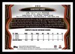 2013 Topps #282  Barkevious Mingo   Back Thumbnail