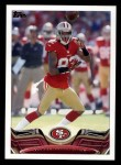 2013 Topps #285  Mario Manningham  Front Thumbnail