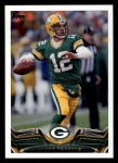 2013 Topps #300  Aaron Rodgers  Front Thumbnail