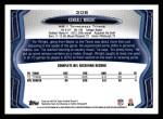 2013 Topps #308  Kendall Wright  Back Thumbnail