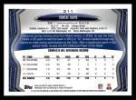 2013 Topps #311  Vontae Davis  Back Thumbnail