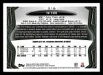 2013 Topps #316  Tim Tebow  Back Thumbnail